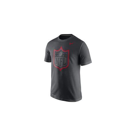 T Shirtbajukaosdistropolopakaianpria Nike Nfl nike nfl shield logo anthracite travel t shirt teams from usa sports uk