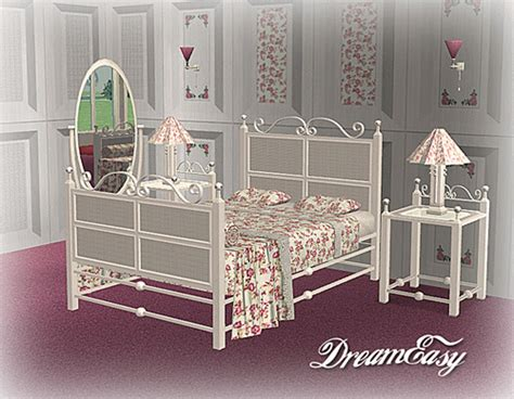 sims 2 bedroom sets mod the sims dreameasy bedroom set new meshes