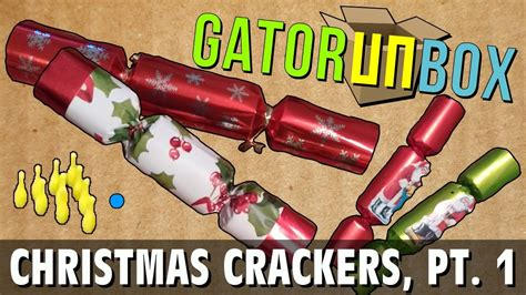 christmas crackers part 1 gatorunbox youtube