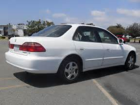 2000 honda accord ex white