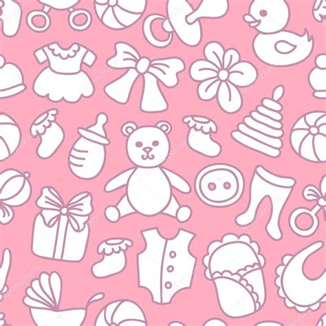 seamless pattern baby baby girl seamless pattern stock vector 169 lianella 53098935