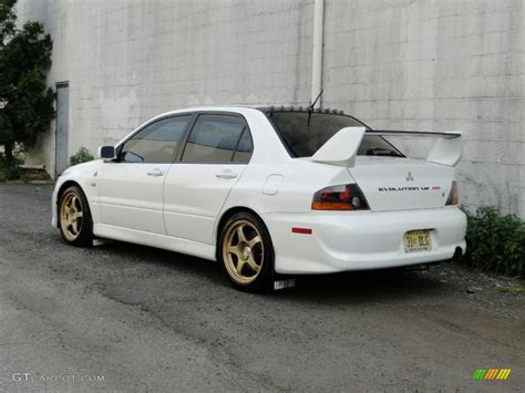 lancer evo white 2005 wicked white mitsubishi lancer evolution mr 30036318