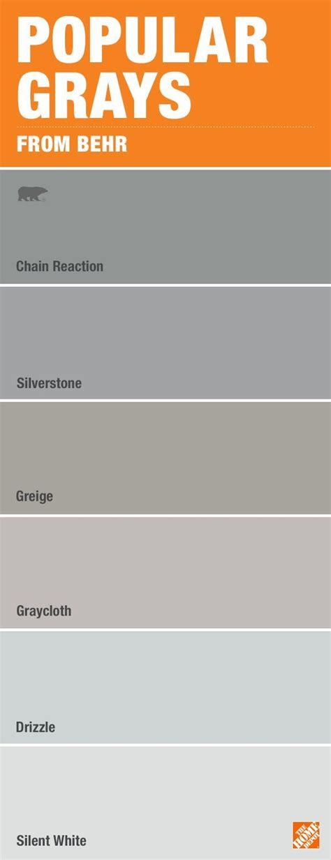behr paint colors shades of gray best 25 gray paint colors ideas on grey