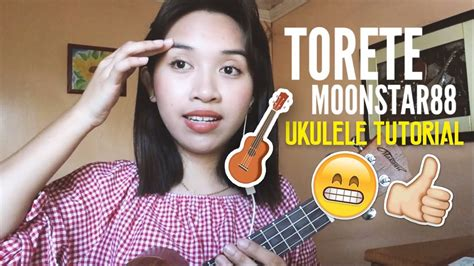 tutorial guitar torete torete moonstar88 easy ukulele tutorial plucking