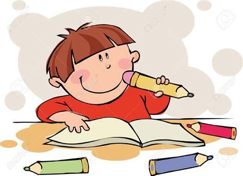 clipart collection free doing homework free clipart of children doing school work