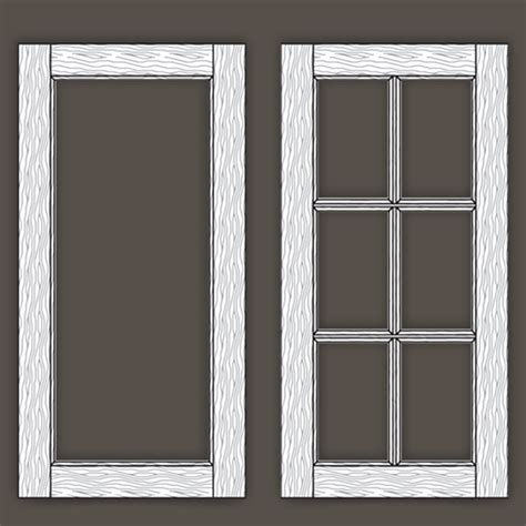 Mullion Doors For Cabinets by Mullion Doors Mullion Windows Add Vertical Elements To