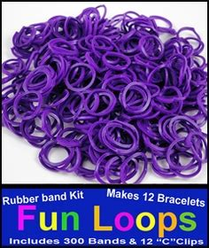 lavender rubber st rainbow looms rainbow loom kit refill rubber bands