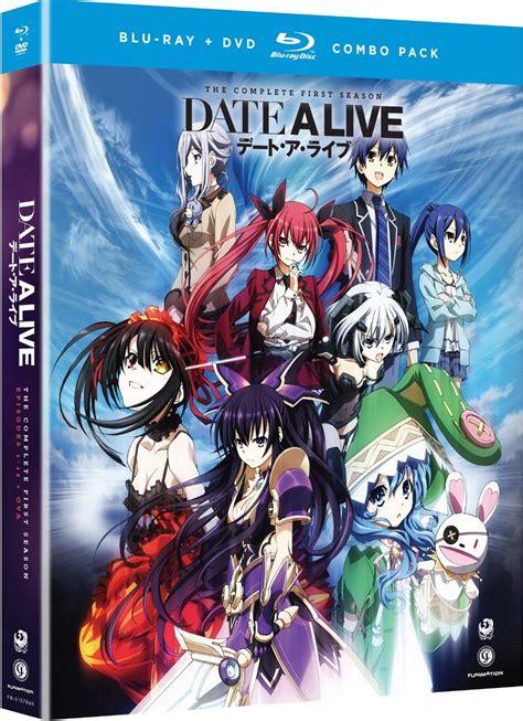 Dvd Anime date a live complete series ep 1 12 ova anime dvd