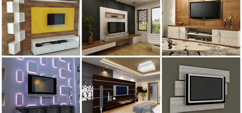 tv panel design for living room 15 stunning tv panel designs to delight you