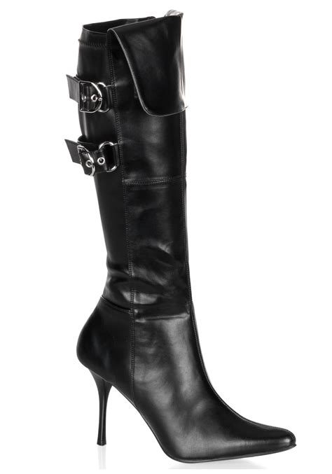 black buckle costume boots costume accessories