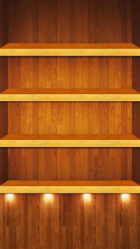 Iphone 5 Shelf Wallpaper by Free Wood Shelf Hd Iphone 5 Wallpapers Free Hd