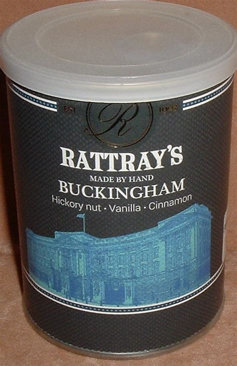 Tembakau Pipa Cangklong Sillems Black 100 Gram Tin rattray s buckingham