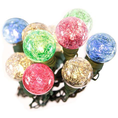 celebrations led christmas lights bethlehem 20 led 25ft g40 tinsel string lights christmas