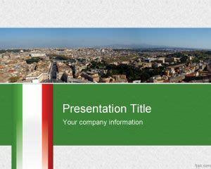 italian powerpoint template free powerpoint templates
