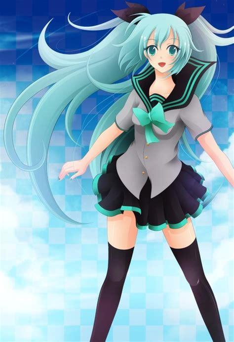 komik anime hatsune miku صور أنمي كيوت بلباس المدرسة أنمي بنات جديد