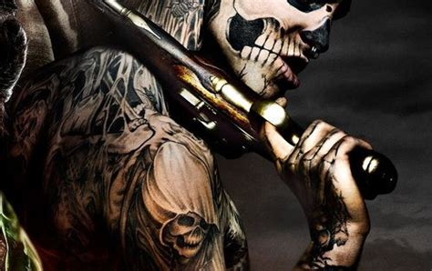 Zombie Tattoo Gun | картинка с тегом 171 tattoo gun and zombie boy 187 poker