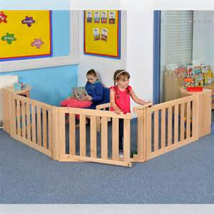 Nursery Room Divider Room 5 Children S Fenced Play Space