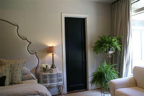 interior door designs for homes homesfeed black painted interior doors why not homesfeed