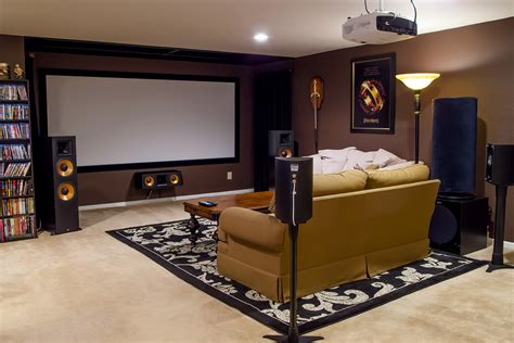cheap and best home theatre design decoration