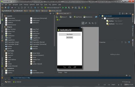 layout of android studio want to develop android apps you need android studio