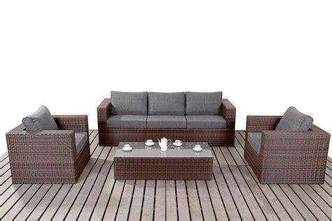 es sofa shops prestige black rattan large rattan sofa set homegenies