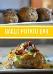 Toppings For Baked Potatoes Bars by How To Set Up A Baked Potato Bar On Any Weeknight My