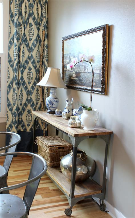 Console Table In Dining Room by Dining Room The Inspired Room