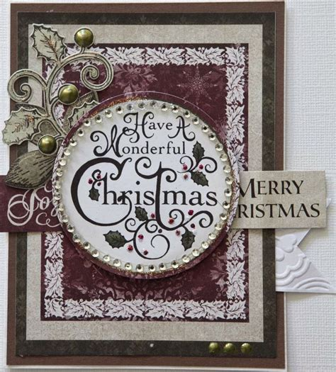 images  christmas cards  pinterest stampin  christmas snowflakes   tree