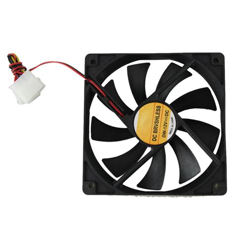 Sale Fan Casing 12cm Transparan Lu high quality computer cooler 12v 12cm 120mm pc cpu cooling cooler fan in blowers from tools