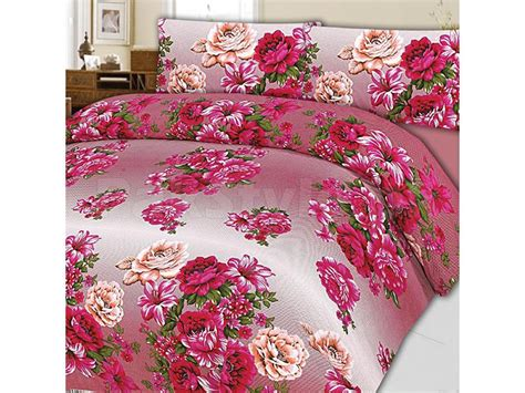 pink bed sheets pink flower king size bed sheet price in pakistan m005375