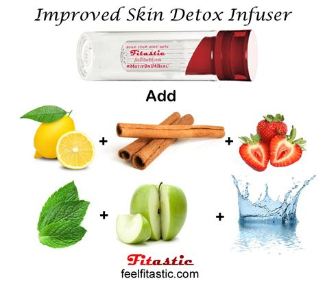 Water Detox Recipes For Skin by Fitastic Detox Infusion For Healthier Skin Everyone