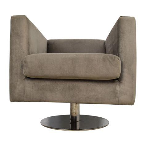 grey swivel armchair 79 off rowe rowe grey swivel chair chairs