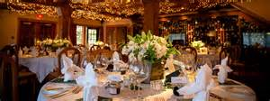 Dining Room Decorations Lake Louise Weddings Wedding Packages The Post Hotel