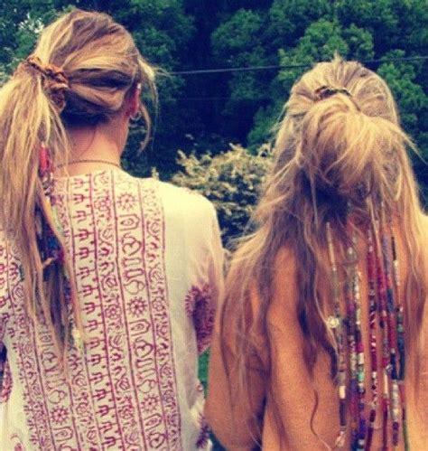 diy hippie hairstyles hippies boho hippie chick pinterest twists