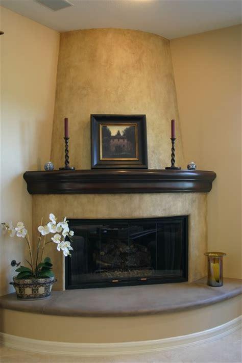 Decorative Fireplace by Decorative Fireplace Area Mediterranean Family Room