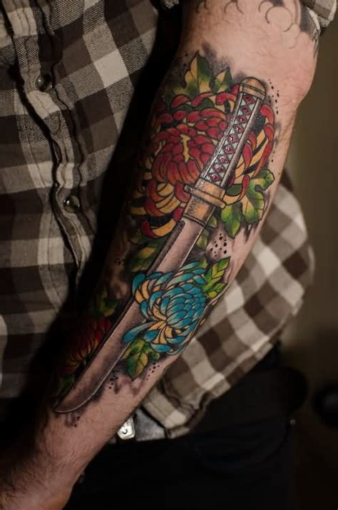 tattoo meaning sword 20 samurai sword tattoos and ideas