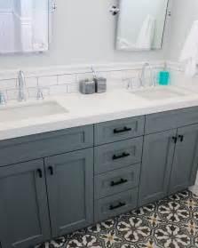 bathroom counter backsplash ideas house bathroom remodel frosty carrina quartz