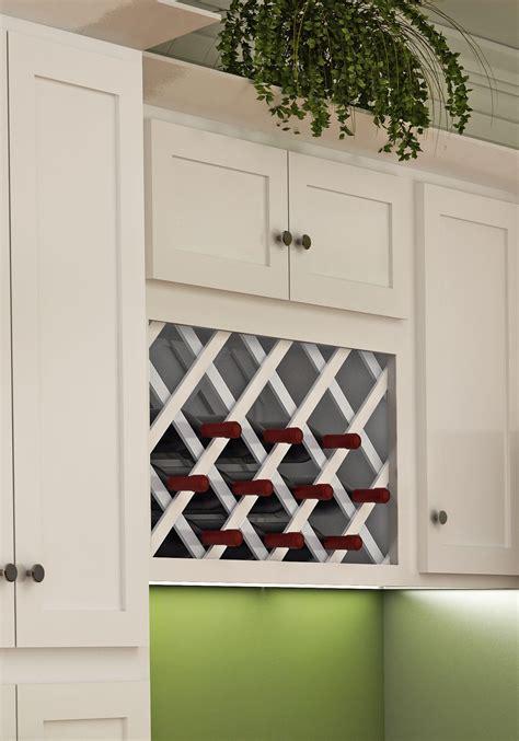 white wine rack cabinet white shaker style wall wine rack kitchens