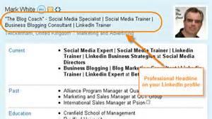 linkedin profile professional headline key elements