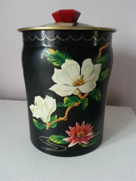 Se Chi Cuen Tea Box Besar vintage george w horner 1950 60s sweet tin