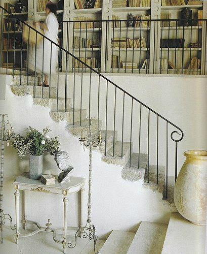 Salvaged French Doors - 47 stair railing ideas decoholic