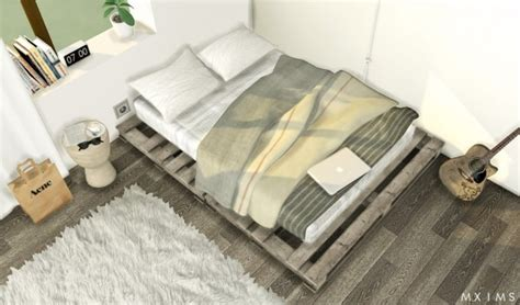 floor bed mxims pallet floor bed sims 4 downloads