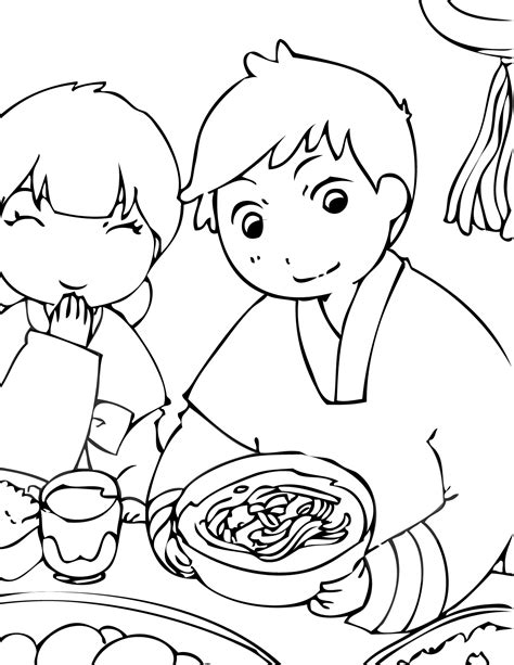coloring book korea chulseok coloring page handipoints