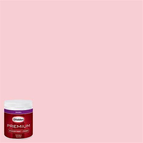glidden premium 8 oz hdgr42 pinwheel pink eggshell interior paint with primer tester hdgr42p