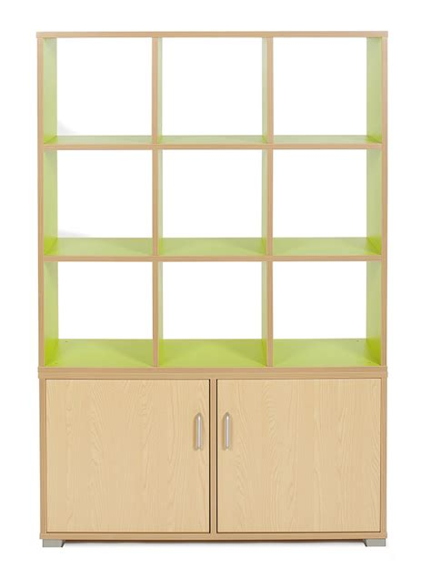 Storage Room Dividers by Bubblegum 9 Cube Room Divider Stackable School Storage
