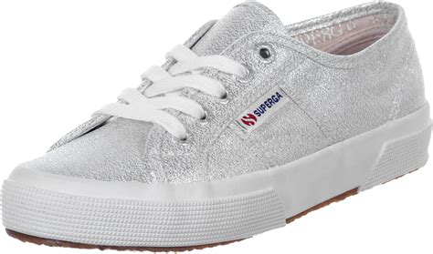 superga sneakers silver superga 2750 lamew w shoes silver