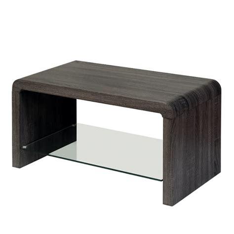 Walnut Effect Coffee Table Hygena 1 Shelf Coffee Table Walnut Effect