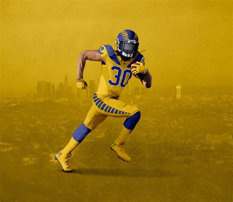 la rams colors look throwback and color here s a rams