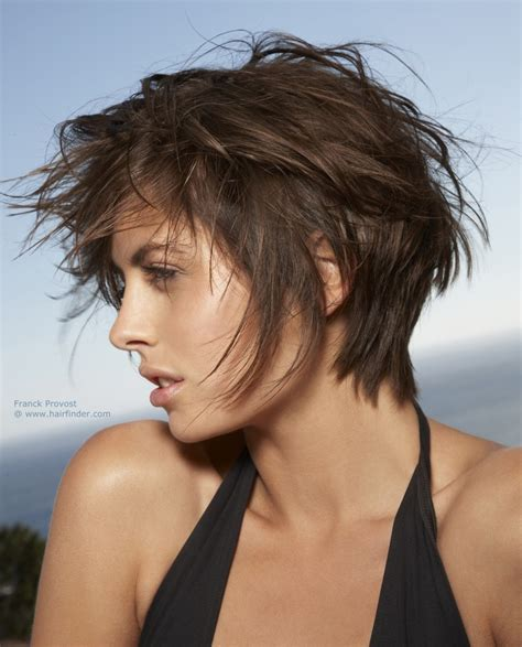 hairstyles for bed short haircut with volume styled for a bed head look