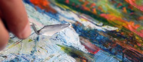Painting Palette palette knife painting workshop sydney community college
